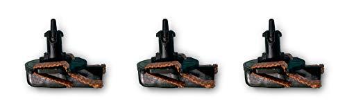 Scalextric- Guía Advance con Trencilla Accesorio, Color Negro (Scale Competiton Xtreme 3)