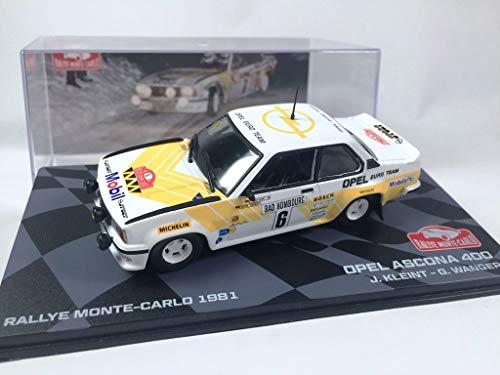 OPO 10 - Coche 1/43 Opel Ascona 400 Rallye Monte-Carlo 1981 Kleint (BR32)