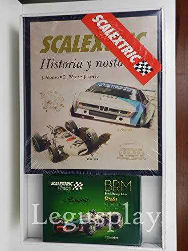SCX Slot Scalextric 9069 Pack Libro Scalextric Historia y Nostalgia+ Vintage BRM
