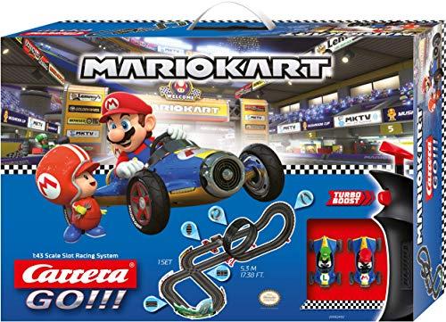 Carrera- Nintendo Mario Kart-Mach 8 Juego con Coches, Multicolor (20062492)