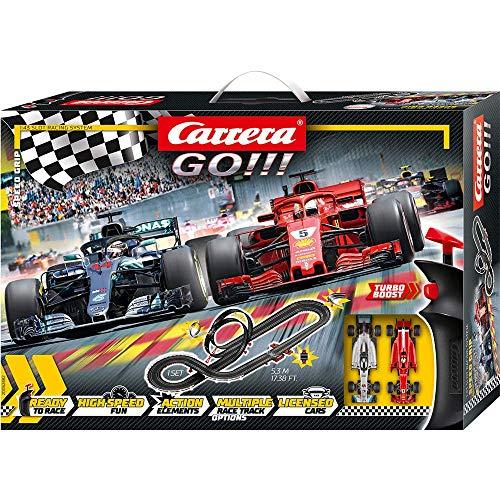 Carrera- Speed Grip Circuito Completo de Coches, Multicolor (20062482)